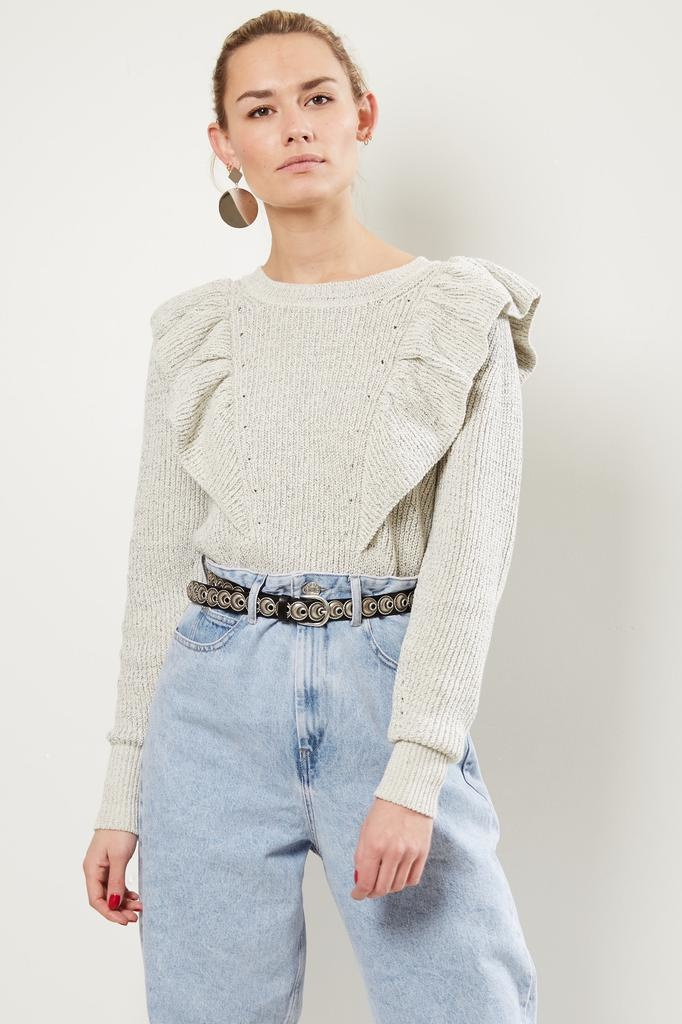 Isabel Marant Blakely modern knit sweater