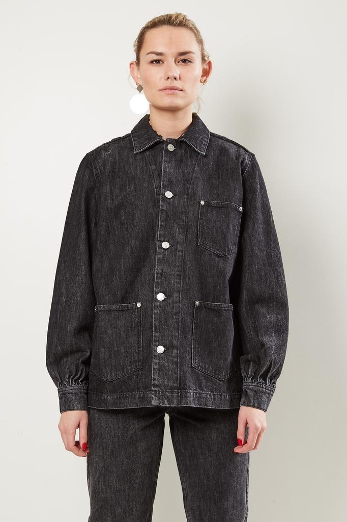 Ganni - Washed denim jacket