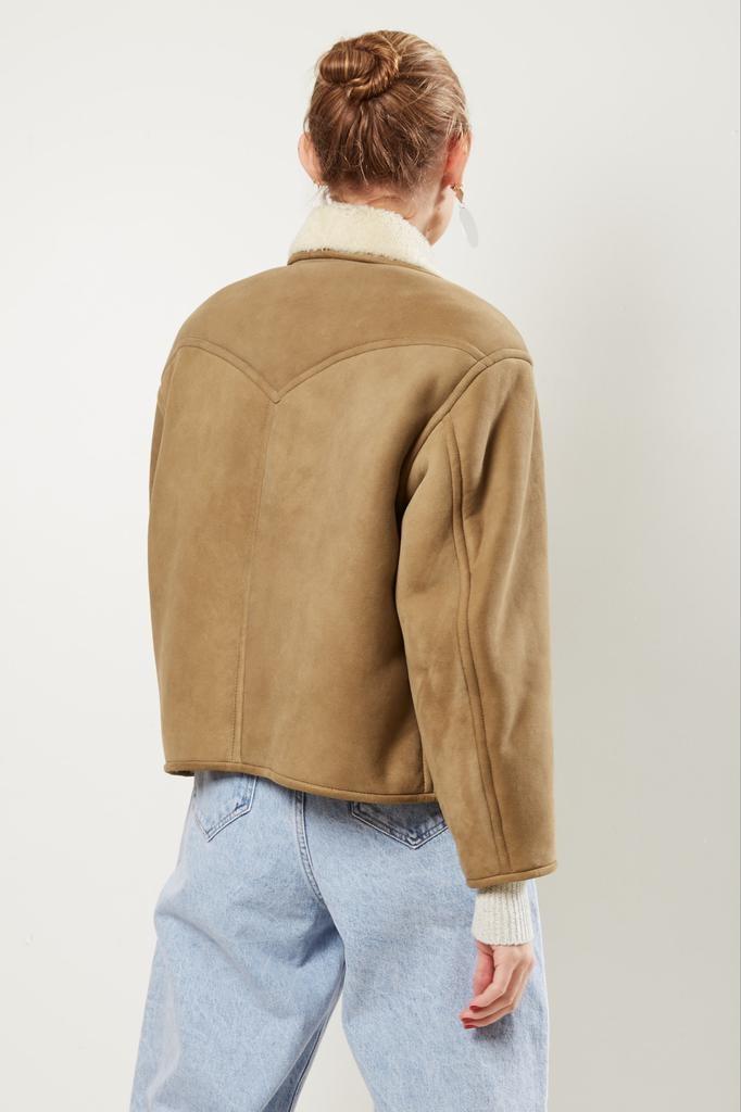 Etoile Isabel Marant - Fabio shearling coat