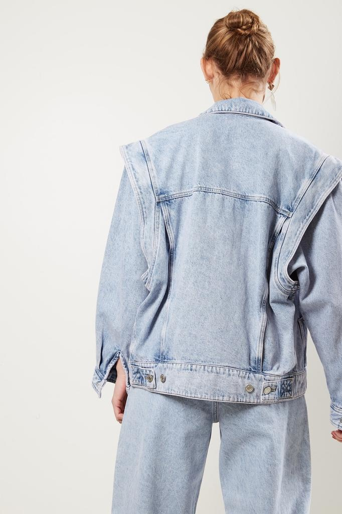 Etoile Isabel Marant - Harmon acid wash color jacket