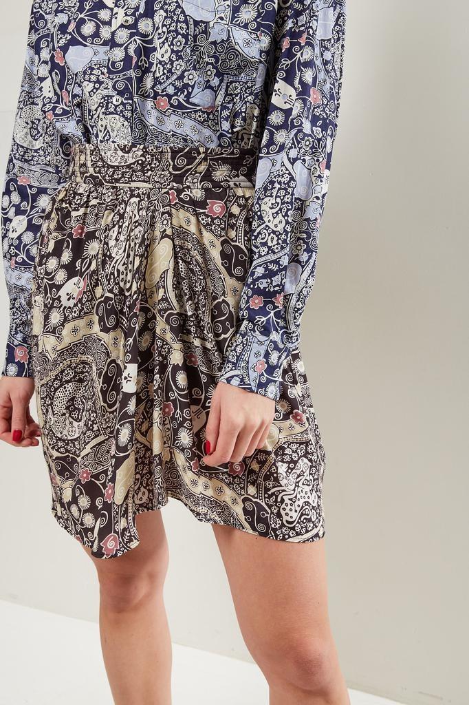 Etoile Isabel Marant - Cegart printed city skirt