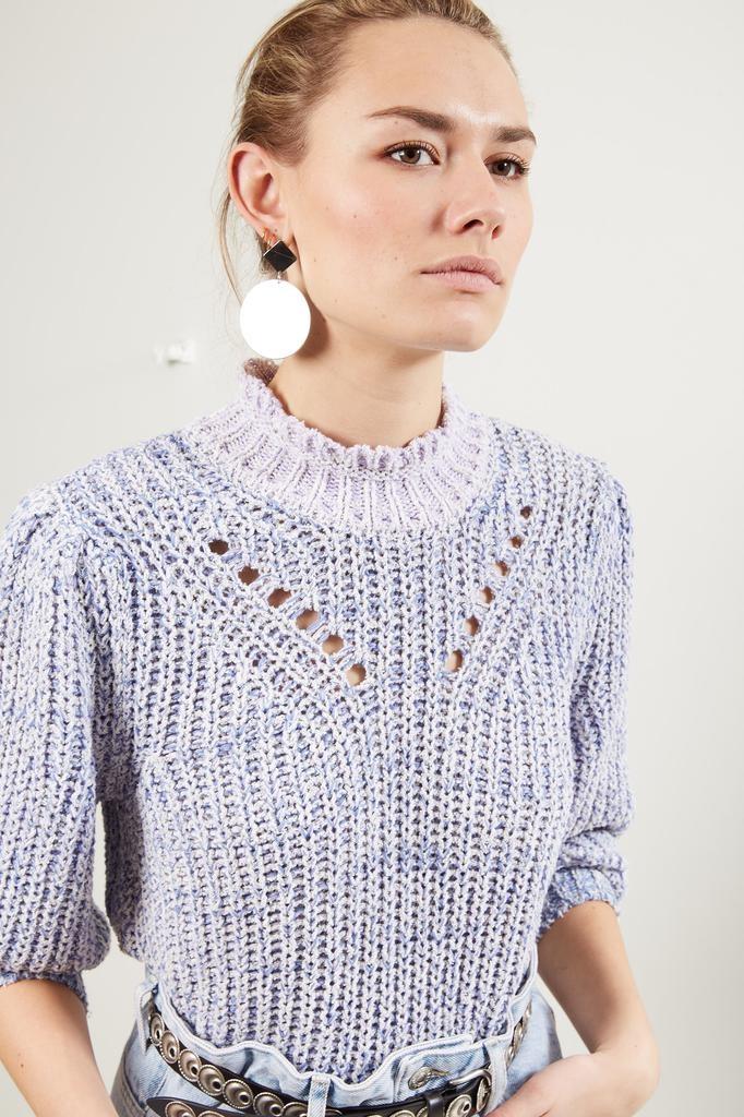 Etoile Isabel Marant Lotiya multicolor knit sweater
