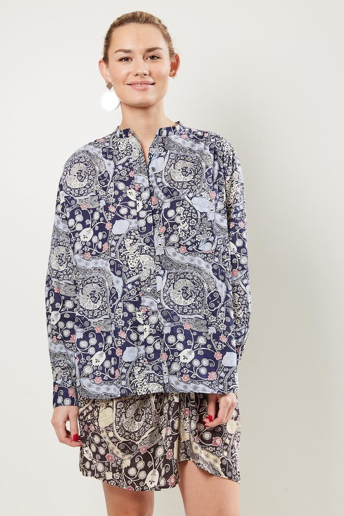 Etoile Isabel Marant Mexika printed cotton shirt
