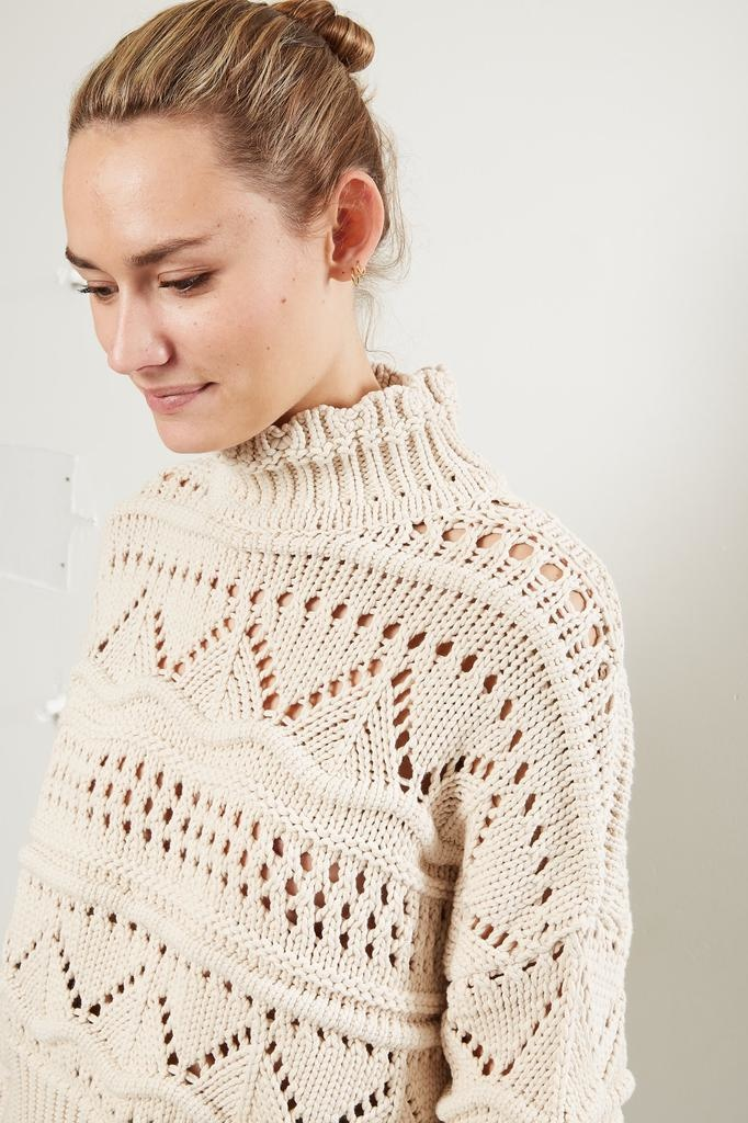 Etoile Isabel Marant Naka techno knit sweater