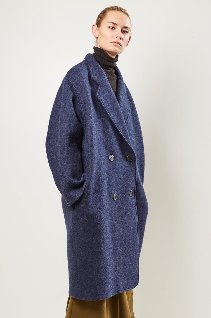 Mara Hoffman Clementine 100% boiled wool coat