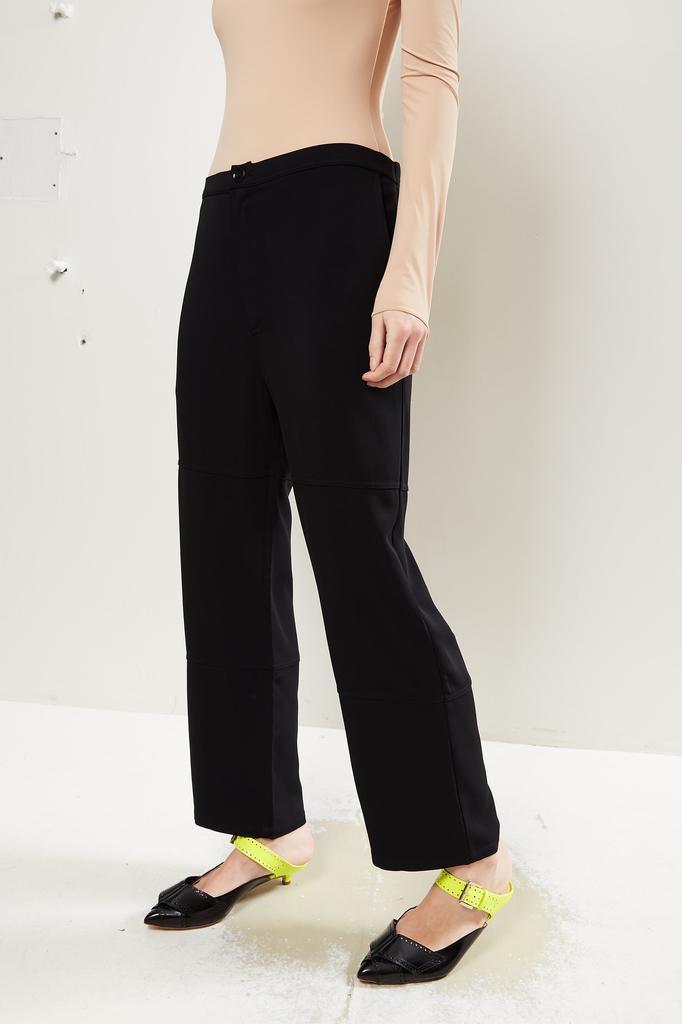 Monique van Heist - PJ worker black stretch trousers