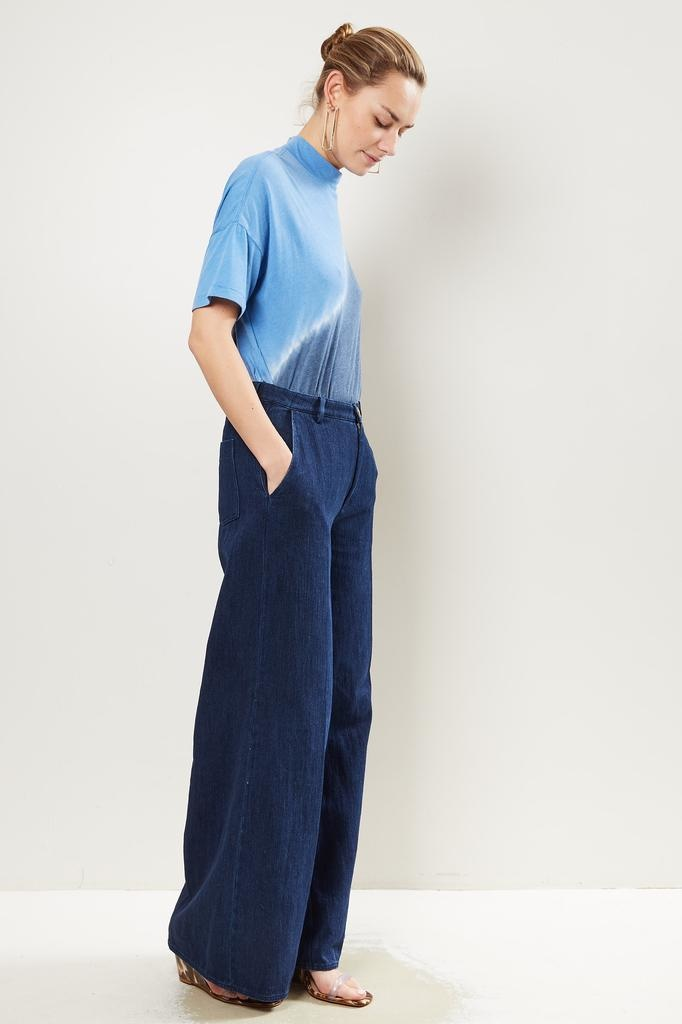 Forte Forte - Calvary cotton denim wide pants
