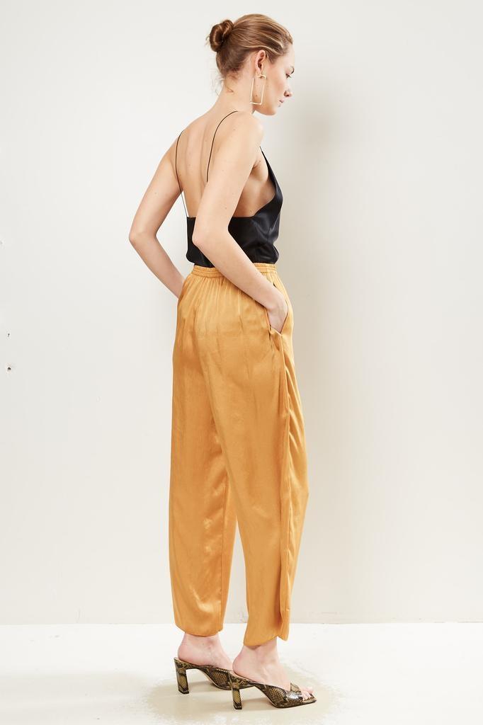 Forte Forte - Crash satin elasticated pants