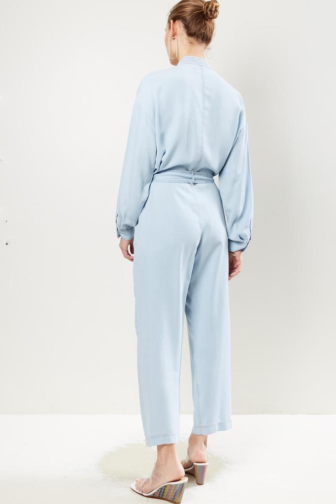 Forte Forte - Indigo twill long sleeves jumpsuit