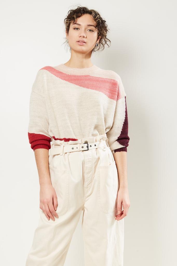 Etoile Isabel Marant Galith intarsia arty sweater