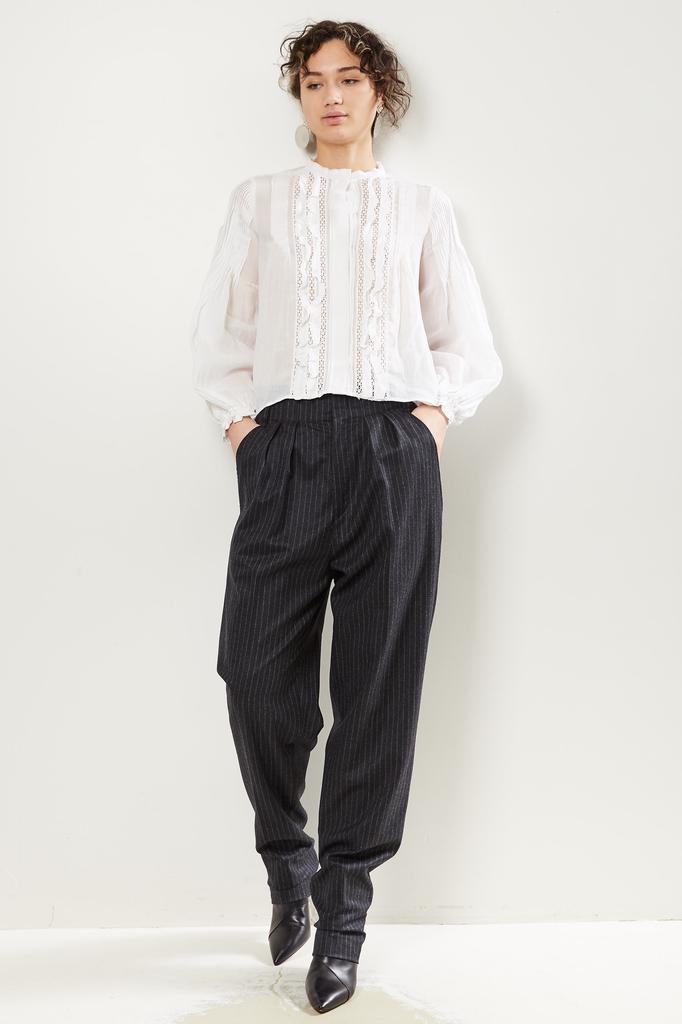 Isabel Marant Magali modern flannel pant