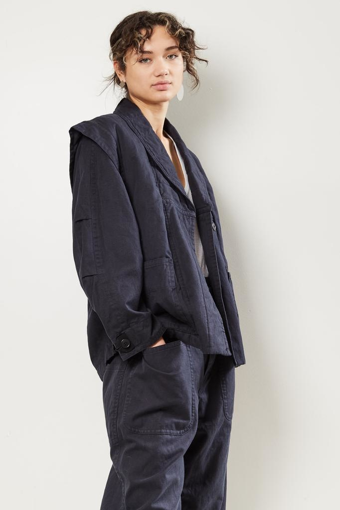 Etoile Isabel Marant Raine cotton trench coat