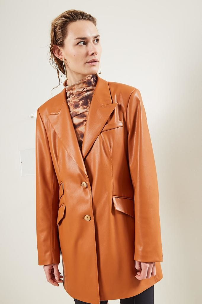 Nanushka - Cancun Vegan Leather jacket