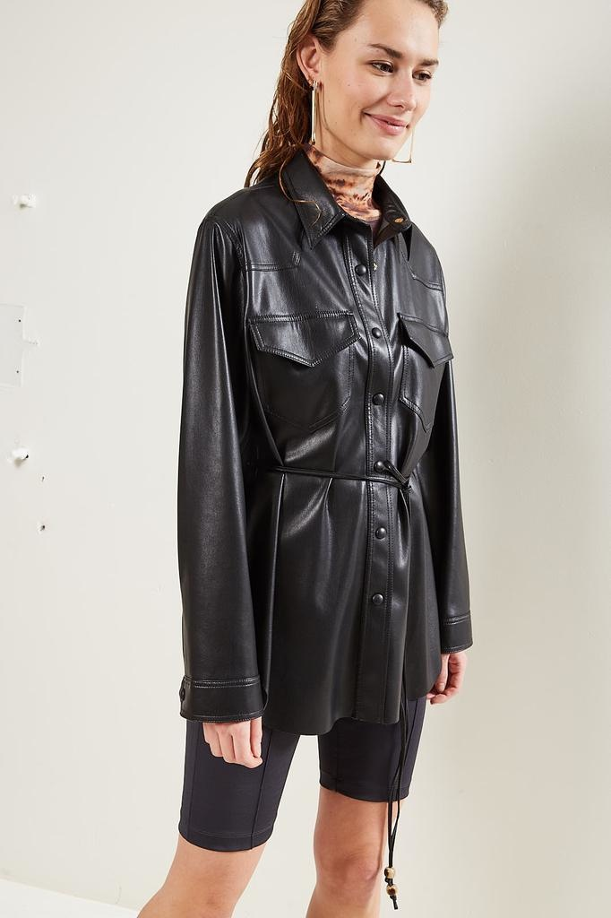 Nanushka - Eddy Vegan Leather shirt