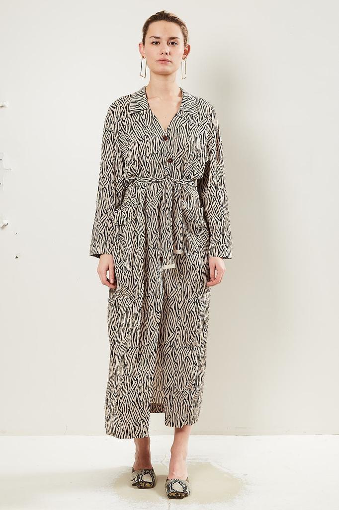 Nanushka Capri 60'S Pleat dress