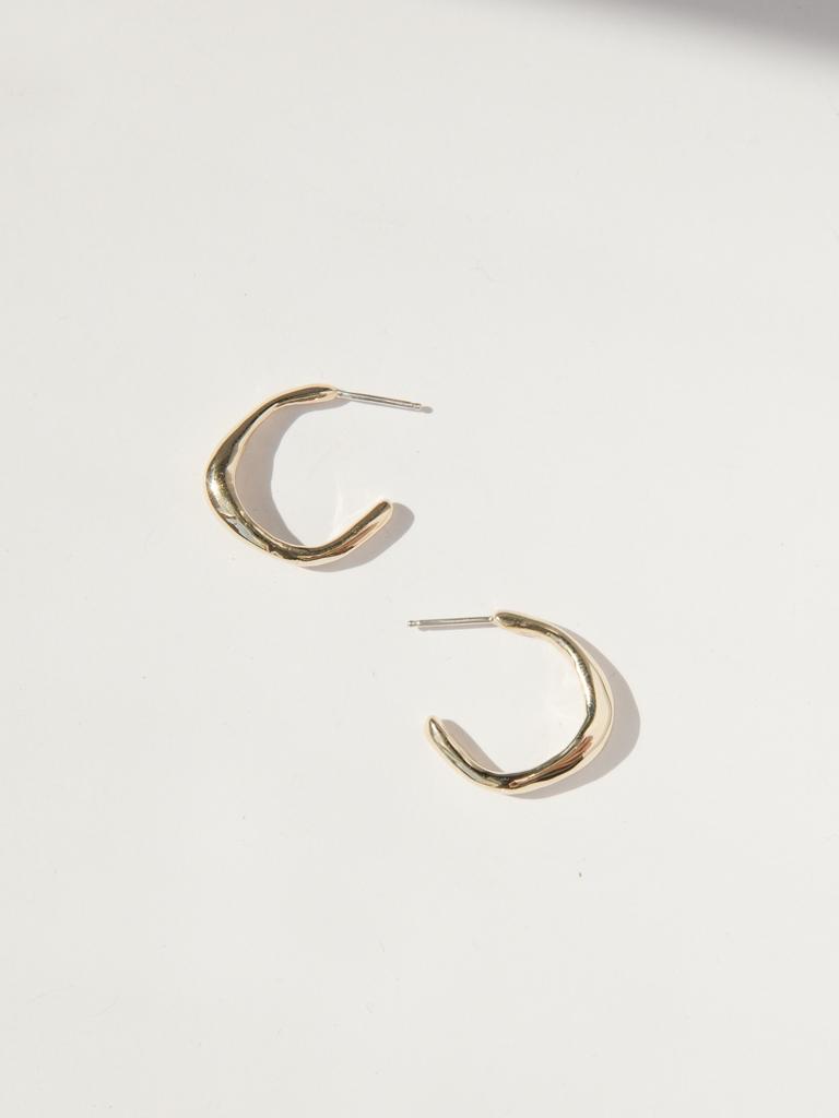 Faris Vero hoops small earrings