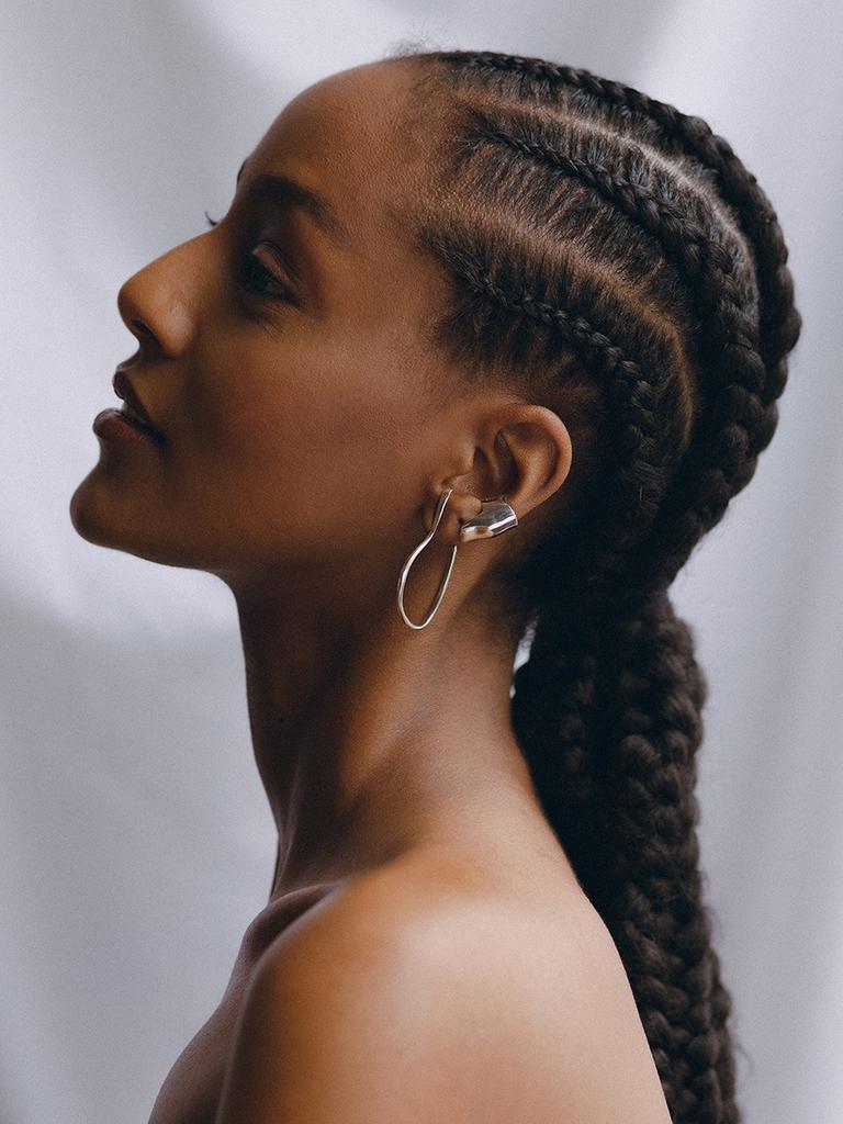 Faris - Vinea hook earrings silver