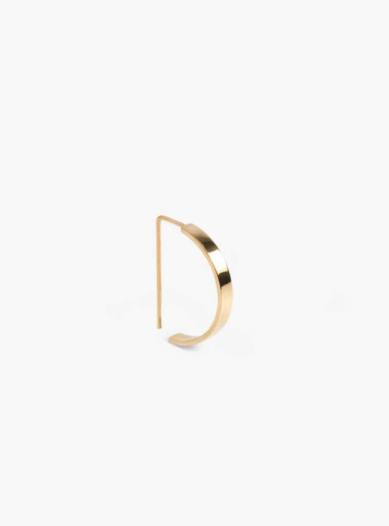 The Boyscouts Earring Level Oval Gold