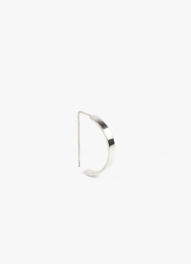 The Boyscouts - Earring Level Oval Silver