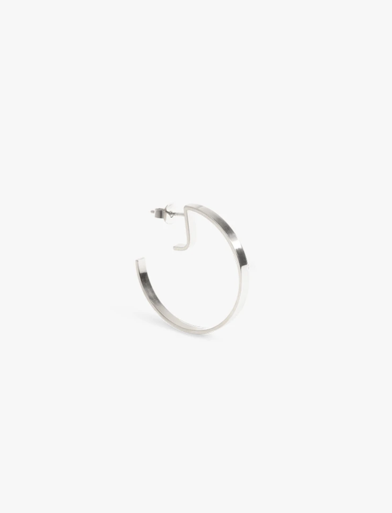 The Boyscouts Earring Level Round Silver