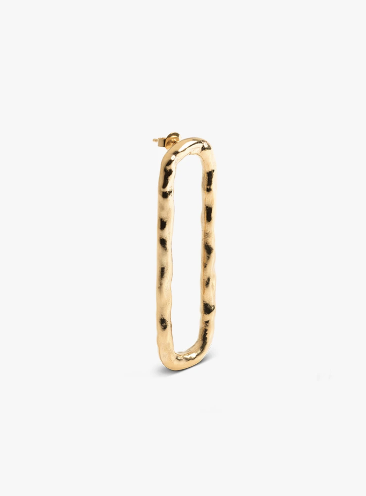 The Boyscouts Earring Verge Oval Gold