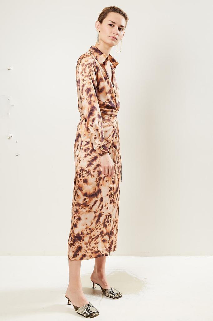 Nanushka - Bisso Faux Silk dress