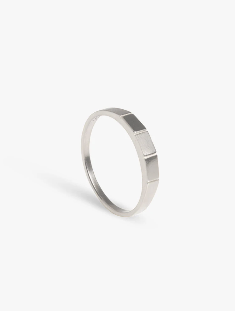 The Boyscouts apex ring silver/16mm