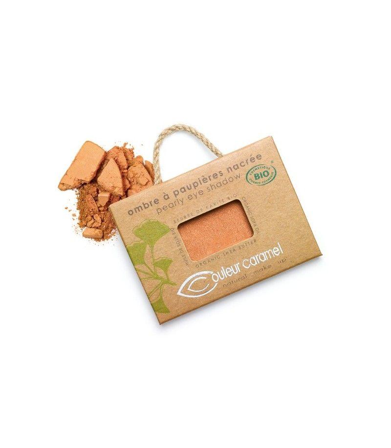 Couleur Caramel Lidschatten n°007 - kupfer gold perlmutt - refill