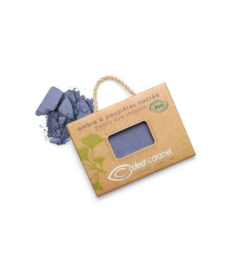 Couleur Caramel Lidschatten n°046 - violett blau perlmutt - refill