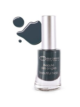 Couleur Caramel Nagellack n°61 - schwarz grau