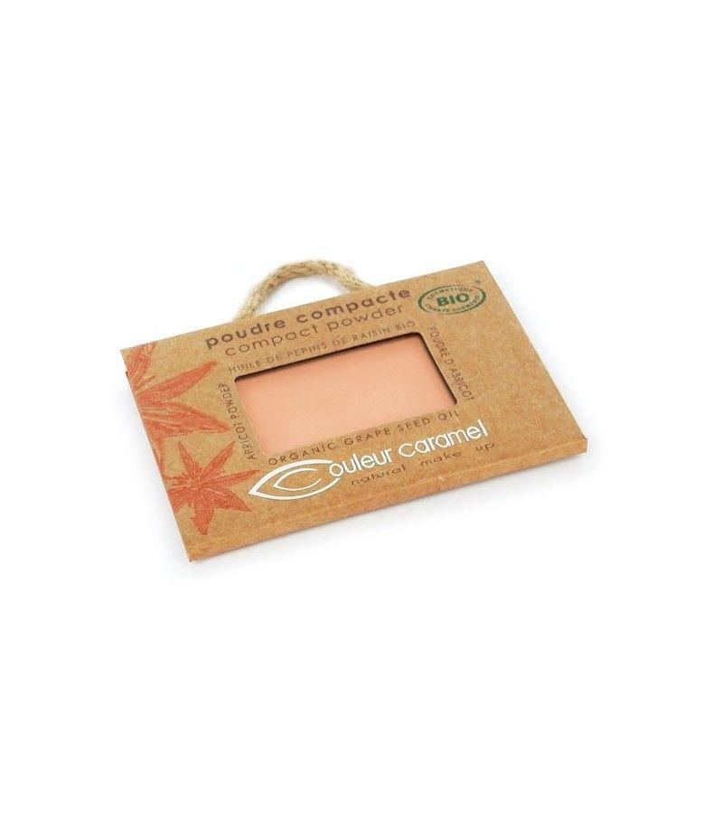 Couleur Caramel Kompaktpuder n°004 - orange beige - refill
