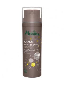 Melvita Homme - Gesichtsgel - für Tag und Nacht - Anti-Aging - beruhigend - 3 in 1