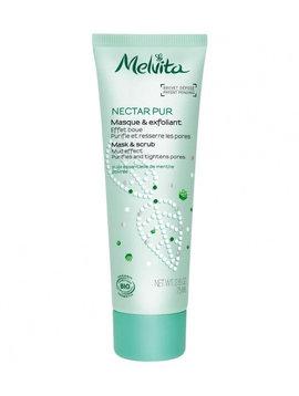 Melvita Nectar Pur - Maske und Peeling -gegen Unreinheiten