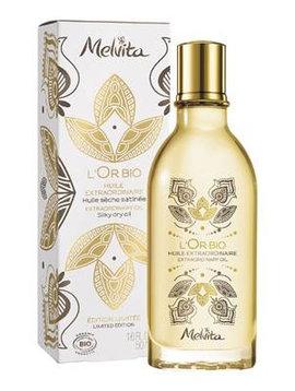 Melvita L'Or Bio - LIMITED EDITION - Trockenöl - für Körper, Gesicht und Haar