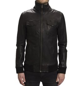 RVLT RVLT, 7132 Jacket leather, black, L