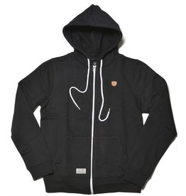 Safari Safari, Twine Zip-Hoody, black, S