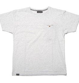 Safari Safari, Hidden T-Shirt, white melange, XL