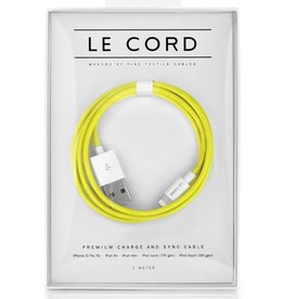 Le Cord LeCord, Solid Yellow