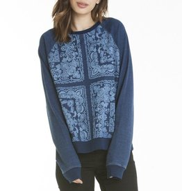 Obey Obey, High Spirits crewneck, indigo, L