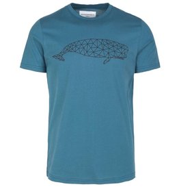 armedangels Armedangels, James Geo Whale, legion blue, XL