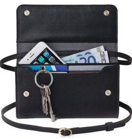 Lost & Found Accessories Lost & found, Mini Tasche Plus, black