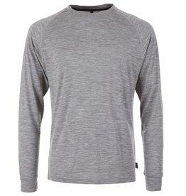pallyhi PallyHi, CrewNeck Longsleeve, heather grey, XL