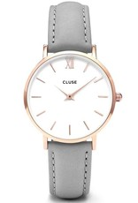 Cluse Cluse, Minuit, rose gold white/grey