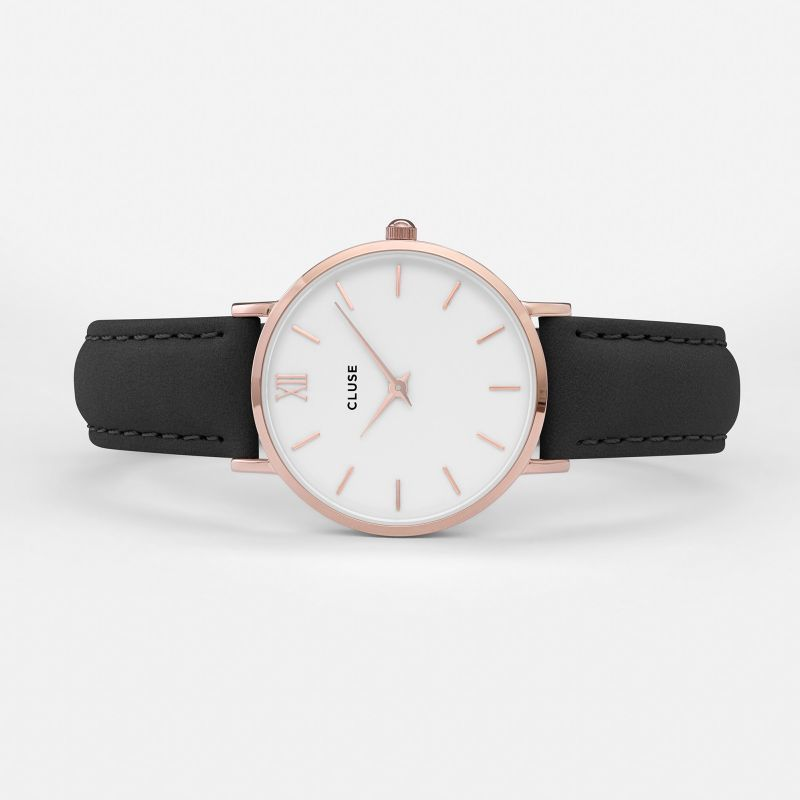 Cluse Cluse, Minuit, rose gold white/black