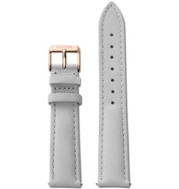 Cluse Cluse, Boho Chic, Strap (18mm), grey/rose gold