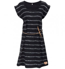 Bleed Bleed, Sun Dress Striped, dark navy, M