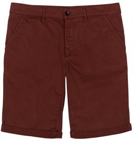 Bleed Bleed, Chino Shorts Rost, Red, L