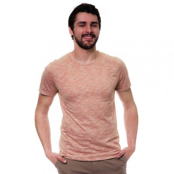 Bleed Bleed, Pinstripe T-Shirt, Red, XL