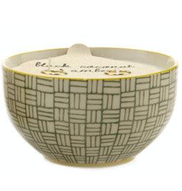 Paddywax Paddywax, Boheme Bowl, Coconut & Amber
