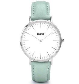 Cluse Cluse, La Bohème, silver white/pastel mint